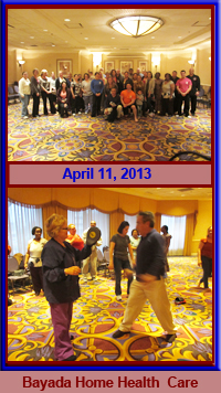 Bayada Home Health Care Realistic Self-Defense Seminar 4.11.13