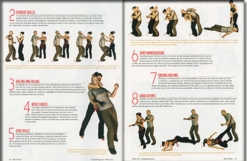 Black Belt Magazine Article Image 2