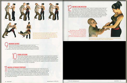 Black Belt Magazine Article Image 3