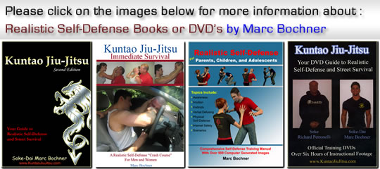 Realistic Self-Defense Books and DVD's