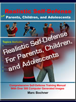 Realistic Self-Defense For Adults, Children, and Adolescents Sm Image