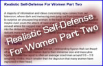 Realistic Self-Defense For Women Part Two Sm Image